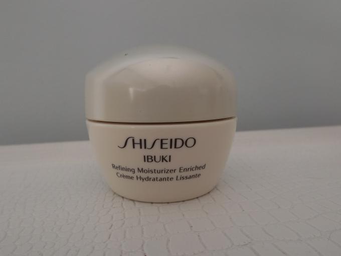 crema facial shiseido ibuki