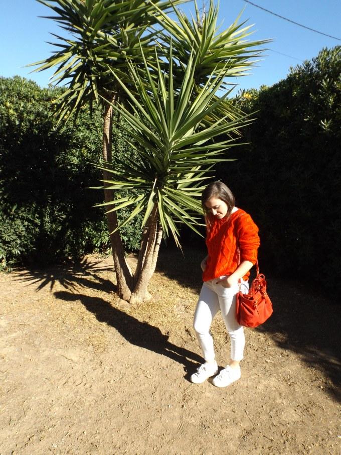 suéter-rojo