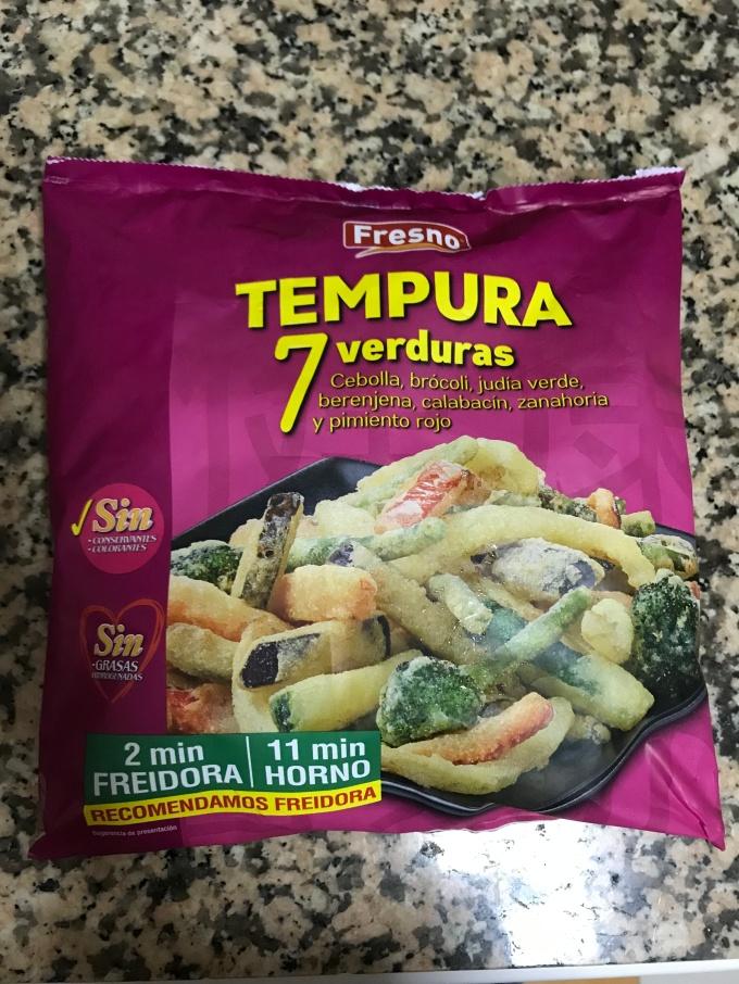 bolsa tempura verduras Mercadona