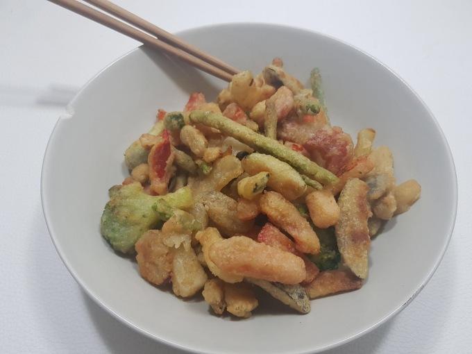 tempura de verduras Mercadona